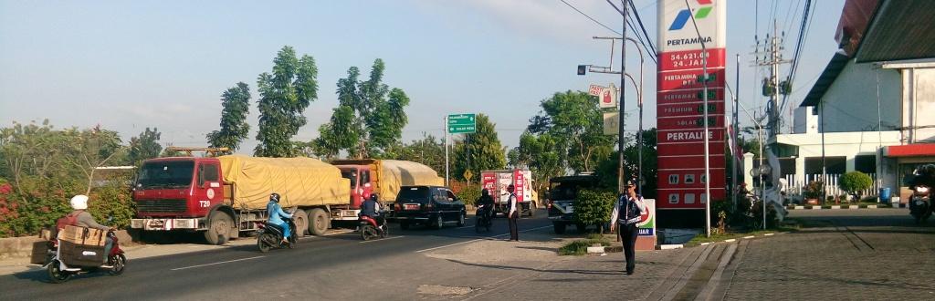 Penindakan Parkir Liar <BR>Di Beberapa Ruas Jalan