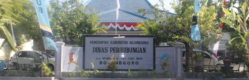 Selamat Datang di Website<BR>Dinas Perhubungan Bojonegoro