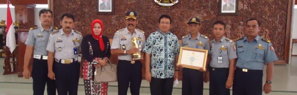 Penghargaan Wahana Tata Nugraha Tahun 2014<BR>Dinas Perhubungan Kabupaten Bojonegoro